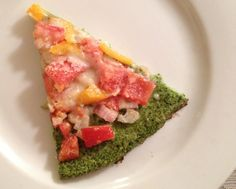 Make This Broccoli Pizza Crust And Top It With Sriracha (Unless you are me and you hate Sriracha)