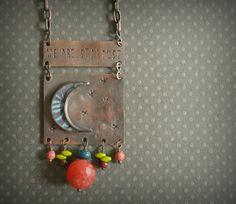 $64 moonlight necklace by jadescott on Etsy