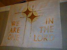 59738f0e31 Wedding parament made for my church. My Church