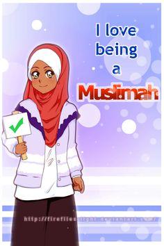 I love being a Muslimah by I-Roka.deviantart.com