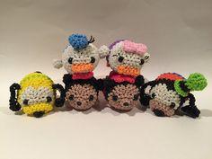 Disney's Mickey Mouse Tsum Tsum Rubber Band Figure | Amigurumi by BBLNCreations on Etsy  Loomigurumi Amigurumi Rainbow Loom