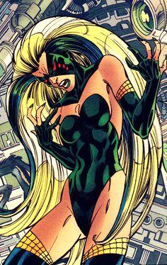Spider-Woman (Charlotte Witter) by John Byrne