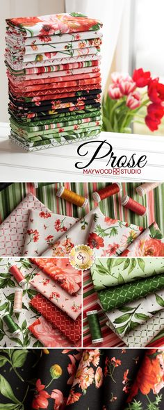 Prose is a beautiful collection by Maywood Studio available at Shabby Fabrics! This collection includes precuts, FQ sets, and yardage. Shop early for best selection! Recycle Old Clothes, Herringbone Quilt, Shabby Fabrics, Fun Arts And Crafts, Maywood Studio, Floral Fabric, Cotton Fabric, Fabric Crafts, Sewing Crafts