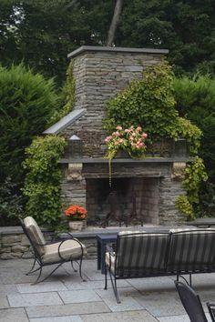 Fireplace Princeton 682x1024 Garden Visits: Princeton