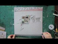 Janna Werner ★ Papiersalat: #scrapbooking video