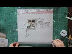 "Janna Werner: scrapbooking page ""broken"" - YouTube"