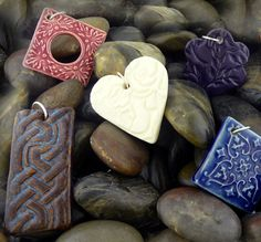 Hand+Building+Pottery+Ideas+necklaces | Cotton Ridge Pottery: Clay Jewelry & Pottery