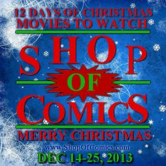 """Stay tuned in for: Shop of Comics' Days of Christmas movies To Watch"""" starting at and every day and same time thereafter through. 12 Days Of Christmas, Christmas Movies, Secret Love, Stay Tuned, Movies To Watch, Comic Books, Facebook, Comics, Shop"""