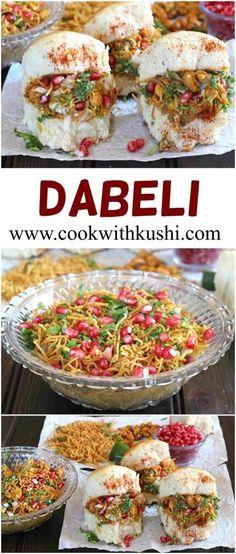 Dabeli / Chat Recipe