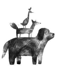 Jon Klassen artwork - #petitpehrdreamnursery @pehrdesigns