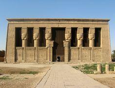 Temple d'Hathor - Denderah - construit sous Pépi 1er a été restauré plusieurs fois