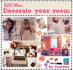 """How to Decorate your room"" by courtneylovesfashion ❤ liked on Polyvore"