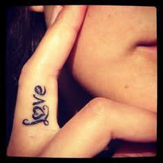 names finger tattoo designs for girls - Google Search