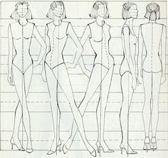 Personal Project: Research for Fashion figures
