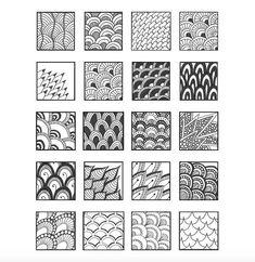Zentangle Drawings, Doodles Zentangles, Mandala Drawing, Doodle Drawings, Doodle Art, Mandala Art Lesson, Flower Drawings, Tangle Doodle, Tangle Art