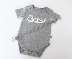 Pinterest the worlds catalog of ideas newborn baby custom name bodysuit boys bodysuit with name personalized bodysuit stylish negle Images