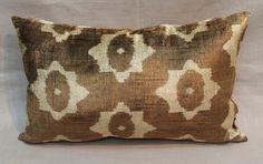 Ikat Pillow Case  13'' x 22'' Decorative Pillows For by salihtex