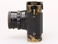 1957 Leica MP Black Paint, Leicavit and Summicron-M 2/5cm Black Paint for MP