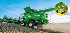 Combine Harvester from the John Deere UK website.