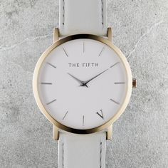 The Fifth Watches New York Classic // SoHo - Polished Rose Gold Casing, 316L Stainless Steel Bezel, Hardened Mineral Crystal Lens, Japanese Quartz Movement, Water Resistant 5ATM, Face Diameter 41.0mm, Case Thickness 6.0mm