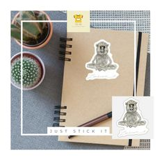 Dorm Room Accessories, School Accessories, Cool Stickers, Funny Stickers, Baboon, Print Store, Gifts For Girls, School Bags, Back To School