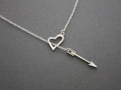 20 Off Valentines Day SALE Love Heart and Arrow by RemindedDesigns, $20.00