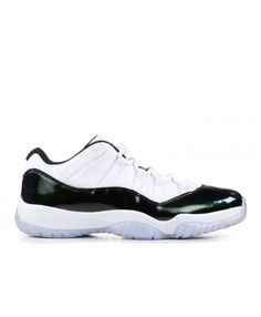 2a5bd1c999d2ae Nike Air Jordan 11 Retro Low Emerald White Black Emerald Rise Outlet