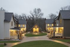 Urban design example: Black Apple pocket neighborhood in Bentonville, Ark.