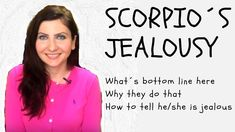 This video is about Scorpio's jealousy. Scorpio is very intense and stubborn water sign. Signs Of Jealousy, Scorpio, To Tell, Scorpion