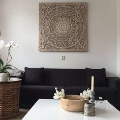 ... / houten wandpanelen op Pinterest - Witkalken, Met en Huisdesign