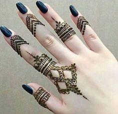 Mehendi Designs are trending quickly Henna Tattoo Designs Simple, Finger Henna Designs, Henna Art Designs, Modern Mehndi Designs, Mehndi Designs For Beginners, Mehndi Design Photos, Mehndi Designs For Fingers, Dulhan Mehndi Designs, Beautiful Henna Designs