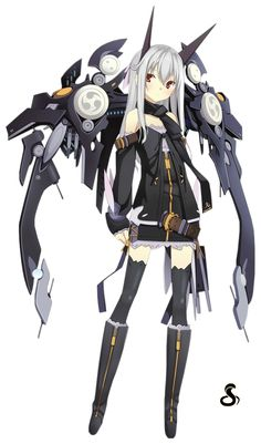 female cyborgs anime - Google Search