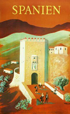 Bernard Villemot,  Spanien,  1959