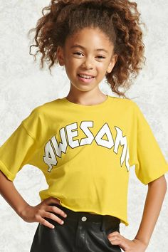 Product Name:Girls Awesome Tee (Kids), Category:CLEARANCE_ZERO, Price:10.9