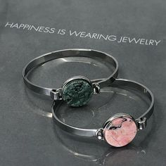 Always be happy! Stylish bangle bracelets from Bud To Rose - something special for every day wear. Available at norditude. Bangle Bracelets, Bangles, Swedish Brands, Swedish Design, Bud, Online Boutiques, Jewellery, Stylish, Rose