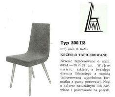 Krzesło 200-113 R. Hałas