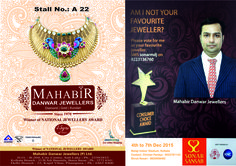 Vote for Mahabir Danwar Jewellers to make us your favourite jewellers  - SMS 'sonarmdj>9223136760'