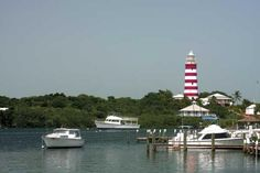 Elbow Cay lighthouse in Abaco