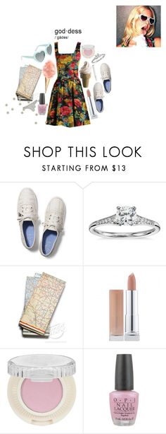"""Lizzy Grant"" by hannadelreyy ❤ liked on Polyvore featuring Keds, Blue Nile, Benefit, OPI, Wet Seal, Lana and lanadelrey"