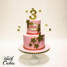 TWINKLE TWINKLE LITTLE STAR 3RD BIRTHDAY CAKE