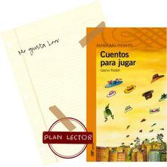 """Actividades del libro """"cuentos para jugar"""""""