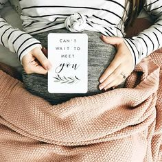 Can't wait to get you. Put together a photo album/book for your little one. Show them this when they older <3 cute idea