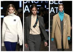 DKNY for next A/W 2015-16: back to the future with a style that reminds Star Trek Space agents! http://junglam.com/fashion/dkny-atmosfere-futuriste-per-lautunno-inverno-2015-alla-ny-fashion-week/
