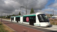 Tramway de Paris - Ligne T5 - Premier jour