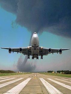Leaving The Tornado Behind