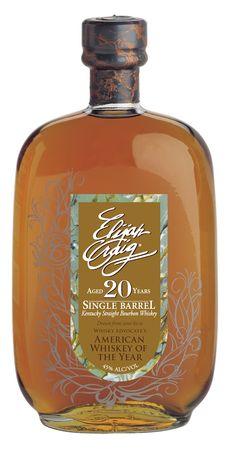 Elijah Craig 20yr bourbon