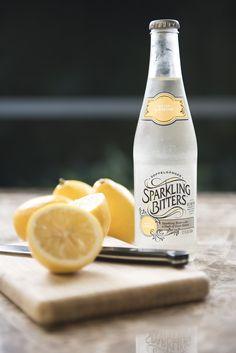 Sparkling Bitters Water, MEYER LEMON
