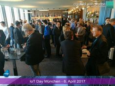 prome - the promotion app in action usecase: event marketing event: Iot Day 2017 Munich Event Marketing, Munich, Make It Simple, Promotion, Action, App, Group Action, Apps