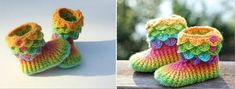Hou jij van haken? Dan moet je echt de Krokodillen-steek kennen! Bekijk mooie voorbeelden!