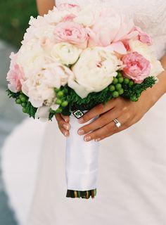 #bouquet  Photography: Adam Barnes Fine Art Photography - adambarnes.com/  Read More: http://www.stylemepretty.com/little-black-book-blog/2014/01/23/preppy-chic-waterfront-backyard-wedding/